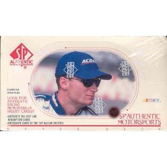 1999 Upper Deck SP Authentic Racing Hobby Box