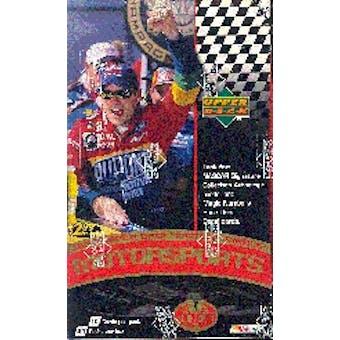1999 Upper Deck Victory Circle Racing Prepriced Box