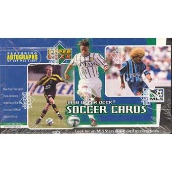 1999 Upper Deck MLS Soccer Hobby Box