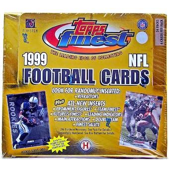 1999 Topps Finest Football Hobby Box