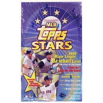 1999 Topps Stars Baseball Hobby Box