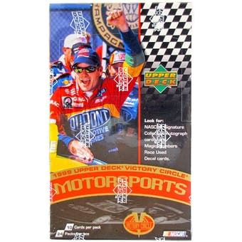 1999 Upper Deck Victory Circle Racing Hobby Box