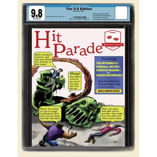 2021 Hit Parade 9.8 Graded Comic Edition Hobby Box - Series 1 - A 9.8 COMIC IN EVERY BOX!