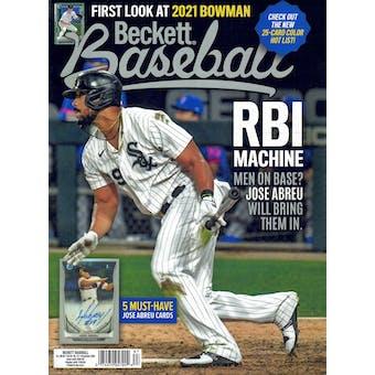 2020 Beckett Baseball Monthly Price Guide (#177 December) (Jose Abreu)