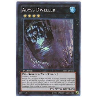 Yu-Gi-Oh Abyss Rising 1st Ed. Single Abyss Dweller Super Rare