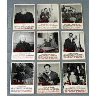 Addams Family Complete Set (1964 Donruss)