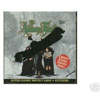 Addams Family Wax Box (1991 Topps)