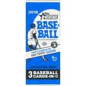 2018 Topps Heritage Baseball Advertising Panel Topper Pack