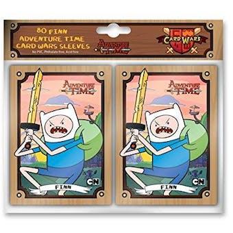 Adventure Time Card Wars 80ct Sleeves - Finn (Cryptozoic)