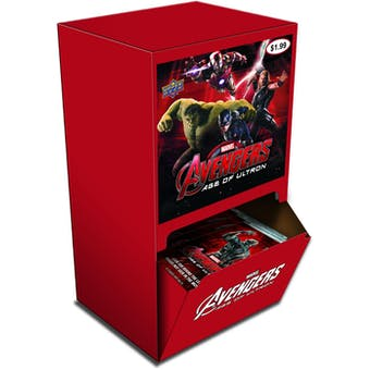 Marvel Avengers: Age of Ultron 36-Pack Box (Upper Deck)