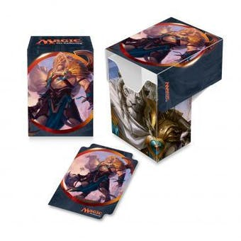 CLOSEOUT - ULTRA PRO AJANI UNYIELDING DECK BOX - 60 COUNT CASE