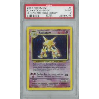 Pokemon Legendary Collection Alakazam 1/110 PSA 9