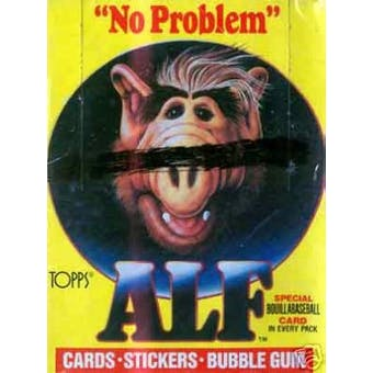 Alf Series 1 Hobby Box (1987 Topps)