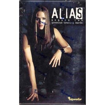 Alias Season 2 Hobby Box (2003 InkWorks)
