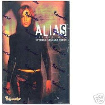 Alias Season 1 Hobby Box (2002 Inkworks)