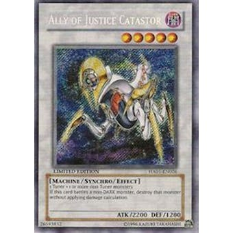 Yu-Gi-Oh Hidden Arsenal Single Ally of Justice Catastor Secret Rare - NEAR MINT (NM)
