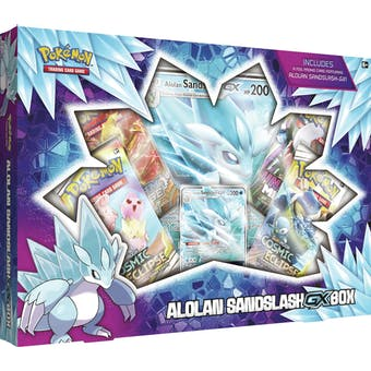 Pokemon Alolan Sandslash-GX Box