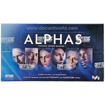 Alphas Season One Trading Cards Box (Cryptozoic 2013)