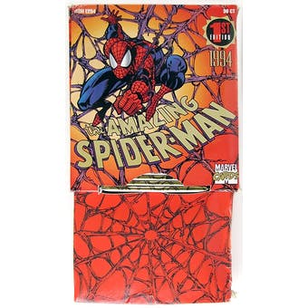 The Amazing Spiderman 1st Edition Rack Box (1994 Fleer)