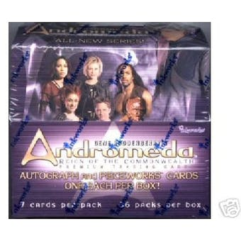 Andromeda Reign of the Commonwealth Hobby Box (2003 Inkworks)