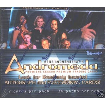 Andromeda Season 1 Hobby Box (2001 Inkworks)