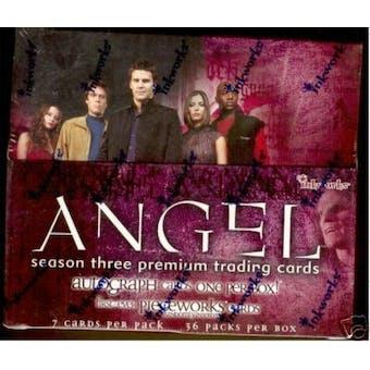Angel Season 3 Hobby Box (2002 InkWorks)