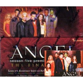 Angel Season 5 Hobby Box (2004 InkWorks)