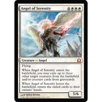 Magic the Gathering Return to Ravnica Single Angel of Serenity Foil