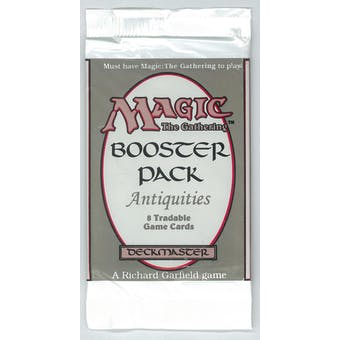 Magic the Gathering Antiquities Booster Pack - UNSEARCHED