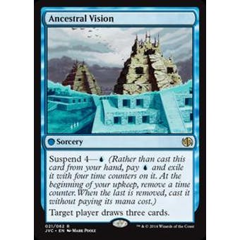 Magic the Gathering Duel Deck Anthology Single Ancestral Vision - NEAR MINT (NM)