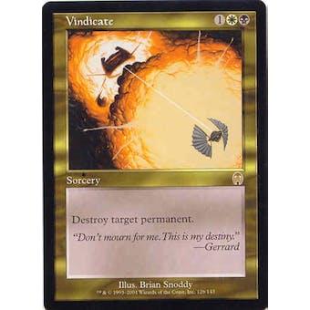 Magic the Gathering Apocalypse Single Vindicate - NEAR MINT (NM)