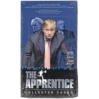The Apprentice with Donald Trump Box (2005 Comic Images)