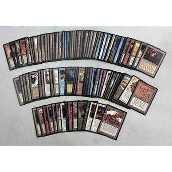 Magic the Gathering Antiquities Complete Set NEAR MINT/SLIGHT PLAY