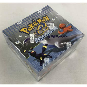 Pokemon EX Aquapolis Booster Box