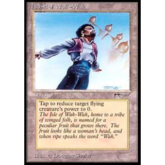 Magic the Gathering Arabian Nights Single Island of Wak-Wak - SLIGHT PLAY plus (SP+)