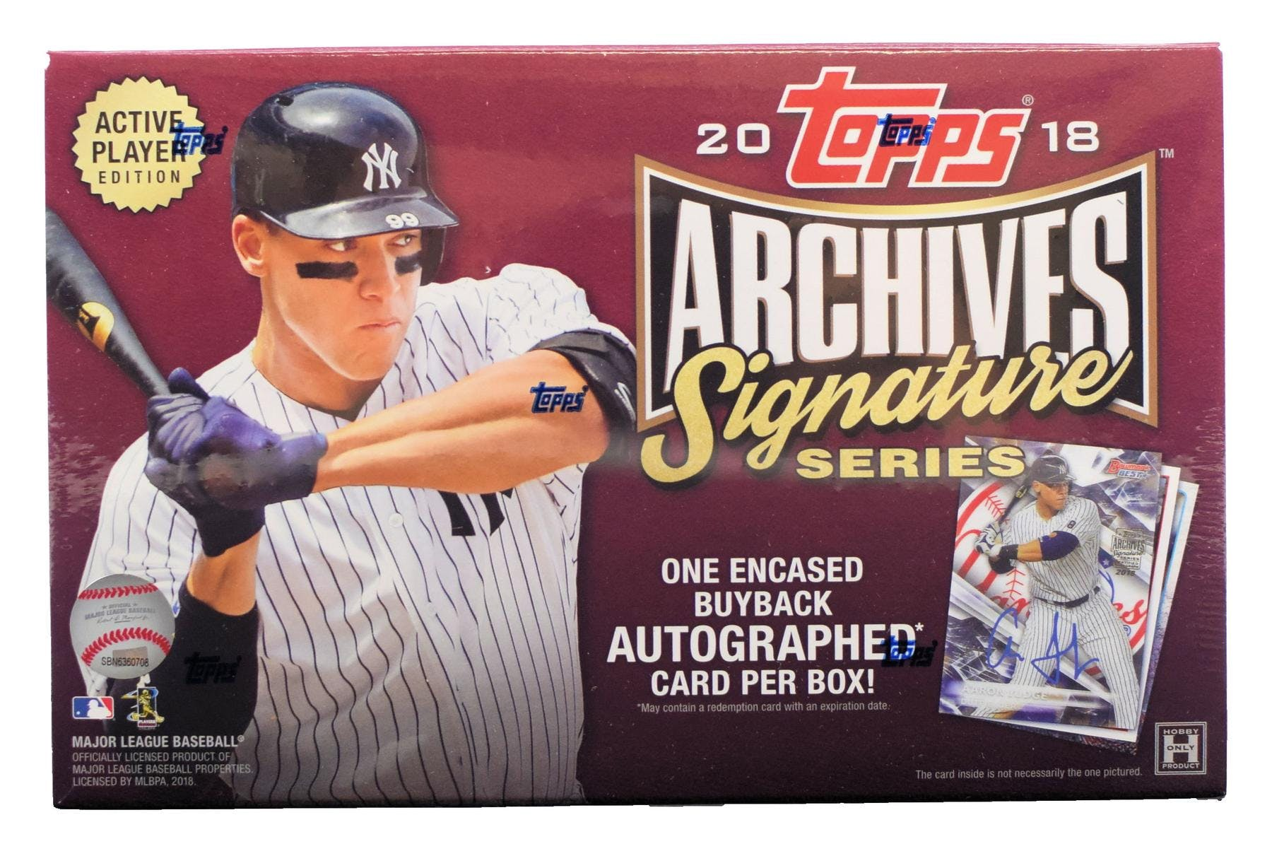 2018 Topps Archives Signature Series Baseball Hobby Box