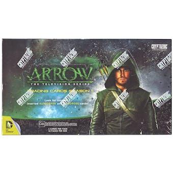Arrow Season One Trading Cards Box (Cryptozoic 2014)