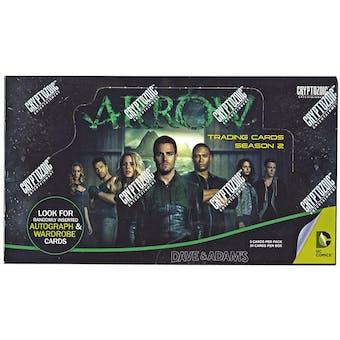 Arrow Season Two Trading Cards Box (Cryptozoic 2015)
