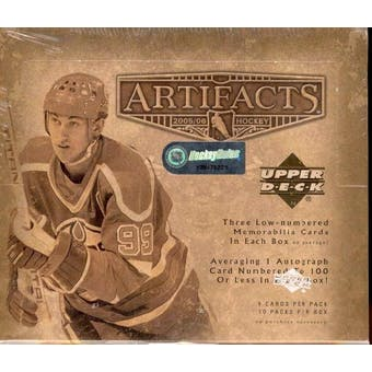2005/06 Upper Deck Artifacts Hockey Hobby Box