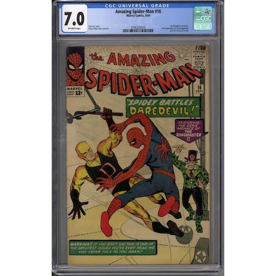 Amazing Spider-Man #16 CGC 7.0 (OW) *3796320016*