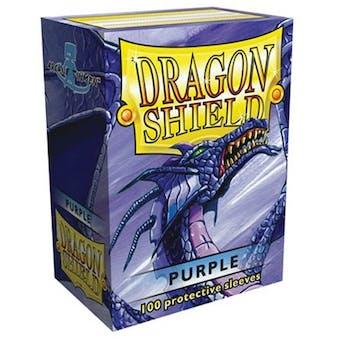 Dragon Shield Card Sleeves - Metallic Purple (100)