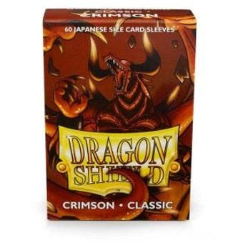 Dragon Shield Yu-Gi-Oh! Size Card Sleeves - Classic Crimson (60)