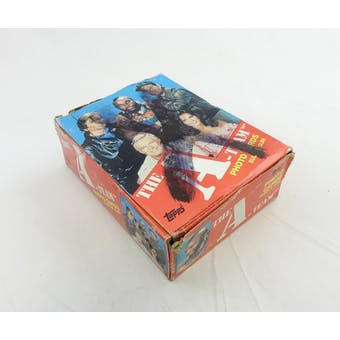 The A-Team Wax Box (1983 Topps)(Ex Box, Mint Packs)(Reed Buy) (Reed Buy)