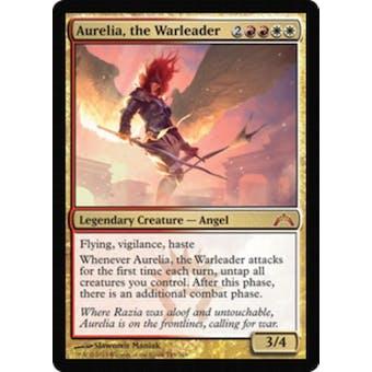 Magic the Gathering Gatecrash Single Aurelia, the Warleader - NEAR MINT (NM)