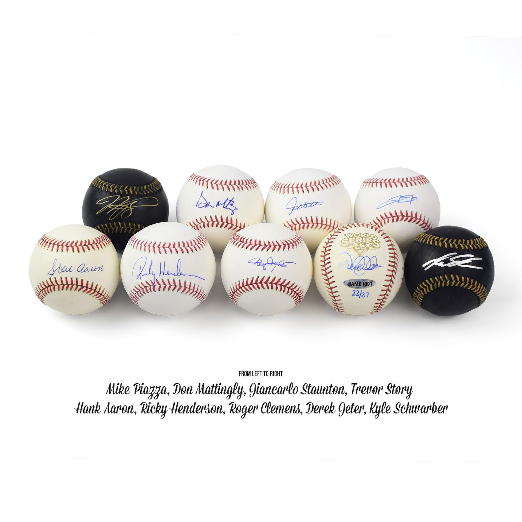 706775696ee ... 2018 Hit Parade Autographed Baseball PERFECT GAME Hobby Box - Series 1  - Derek Jeter