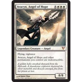 Magic the Gathering Avacyn Restored Single Avacyn, Angel of Hope FOIL - NEAR MINT (NM)
