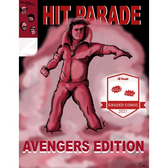2021 Hit Parade Avengers Graded Comic Edition Series 1- 1-Box- DACW Live 5 Spot Break #6