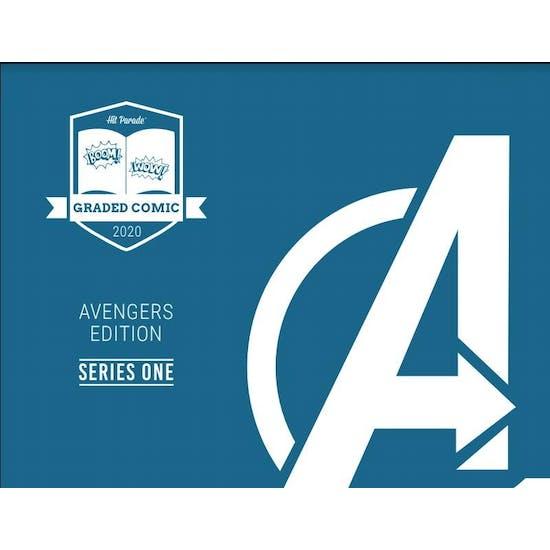 2020 Hit Parade Avengers Graded Comic Ed 1-Box Ser1- DACW Live 5 Spot Break #6