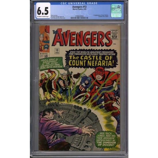 Avengers #13 CGC 6.5 (OW-W) *3788022003*