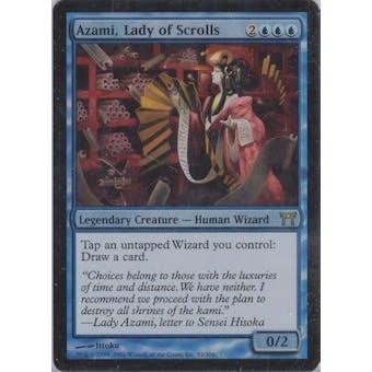 Magic the Gathering Champs of Kamigawa Single Azami, Lady of Scrolls Foil